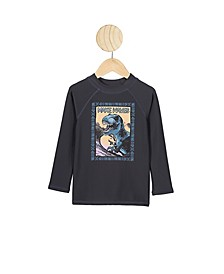 Little Boys Flynn Long Sleeve Rash Vest
