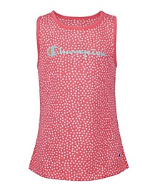 Little Girls Aop Polka Dot Tank
