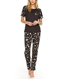Jordyn Printed Pajama Set