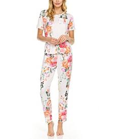 Carla Printed Pajama Set