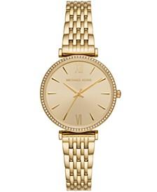 Gold-Tone Stainless Steel Bracelet Watch 37mm