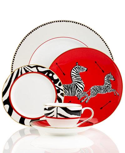 Scalamandre by Lenox, Zebra 5 Piece Place Setting