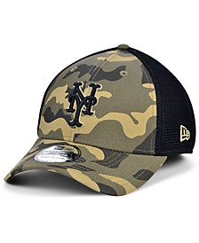 Men's New York Mets Camo Neo 39THIRTY Cap