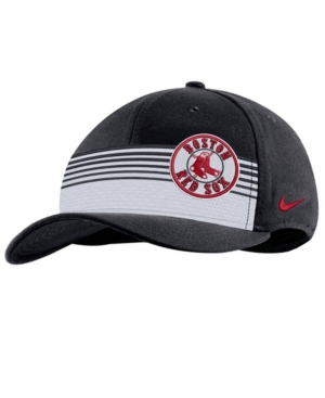 Nike Boston Red Sox Stripe Swooshflex Classic 99 Cap