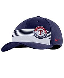 Texas Rangers Stripe Swooshflex Classic 99 Cap