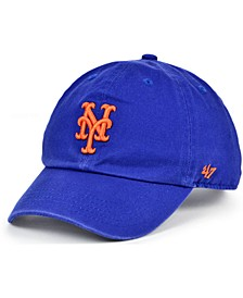 Kids New York Mets On-Field Replica Clean Up Cap