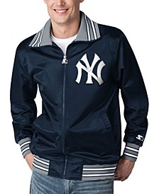 Men's New York Yankees Captain Satin Jacket