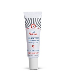 FAB Pharma BHA Acne Spot Treatment Gel 2% Salicylic Acid, 0.75 fl oz.