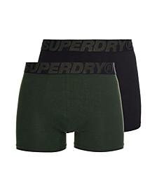 Men's Organic Cotton Boxer Double Pack