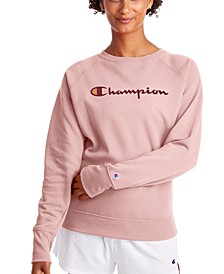 Women's Powerblend Graphic Boyfriend Sweatshirt