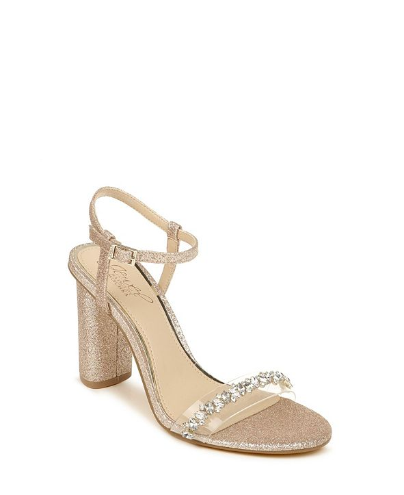 Jewel Badgley Mischka Fancie Embellished Women's Sandals