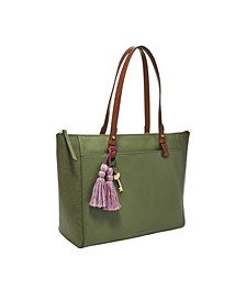Women's Rachel Tote with Zipper Lizard Emboss