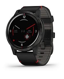 Unisex Darth Vader vivoactive 4 Black Silicone Strap Touchscreen Smart Watch 32mm