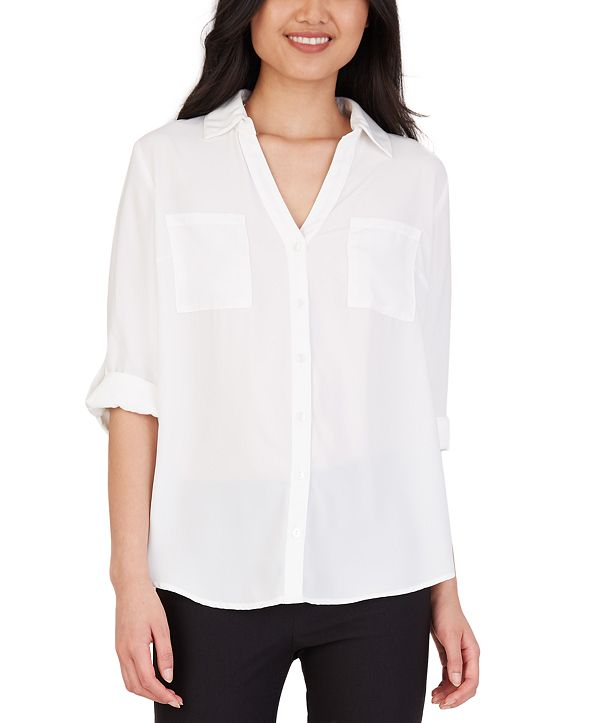 BCX Juniors' Collared Shirt