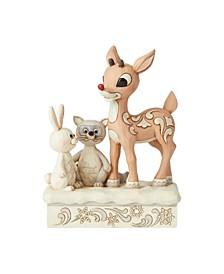 Woodland Rudolph with Friends Figurine