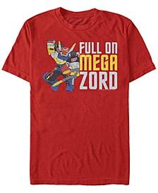 Men's Power Rangers Full On Mega Zord Short Sleeve T-Shirt