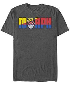 Men's Power Rangers Morph Logo Short Sleeve T-Shirt