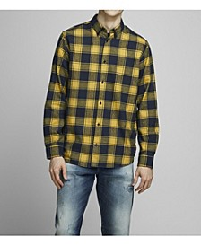 Men's Long Sleeve Button-Down Shirt