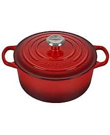 4.5-Qt. Signature Enameled Cast Iron Round Dutch Oven