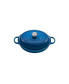 5-Qt. Enameled Cast Iron Signature Braiser