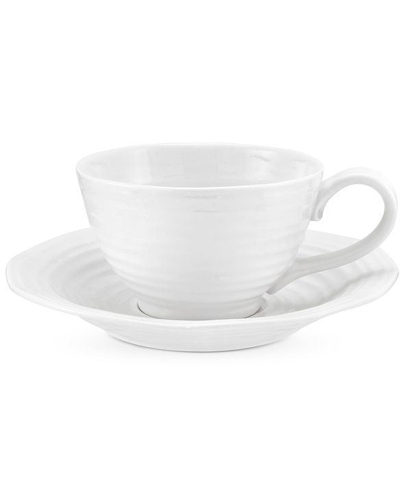 Portmeirion Dinnerware, Sophie Conran Jumbo Cup and Saucer
