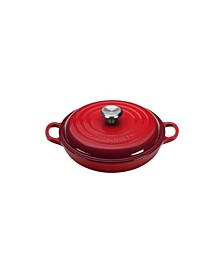 1.5-Qt. Signature Enameled Cast Iron Braiser