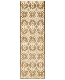 "MSR74303 Taupe 2'5"" x 7'6"" Runner Area Rug"