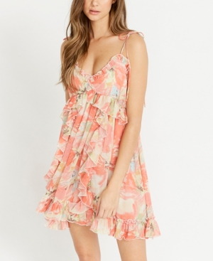 on the List with Ruffles Cami Dress