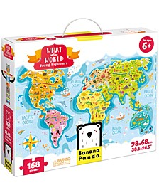 What in the World - Young Explorers- 168 Pieces
