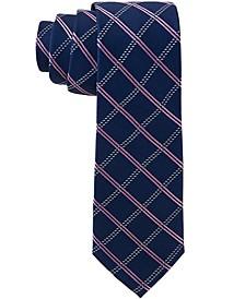 Ralph Lauren Big Boys Katonah Grid Silk Necktie