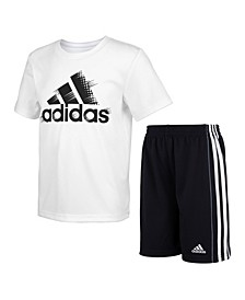 Toddler Boys 2-Pc. Logo T-Shirt & Shorts Set