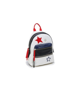 Small Star Patchwork Backpack