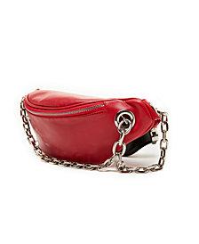 LIKE DREAMS Multi Pocket Chain Fanny Pack