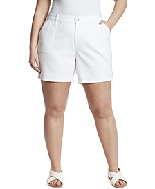 Women's Plus Size Short with Tabs