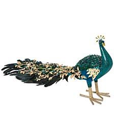 Evergreen Dreams Peacock Décor, Created for Macy's