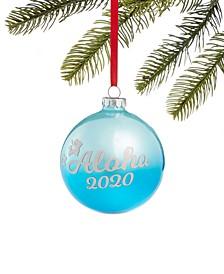 Hawaii Aloha 2020 Pineapple Ornament, Created for Macy's