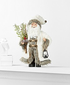 Standing Santa with Lamp & Branch, Created for Macy's
