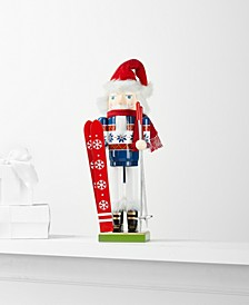 Skier Nutcracker, Created for Macy's