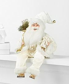 Seated Santa in Ivory, Created for Macy's