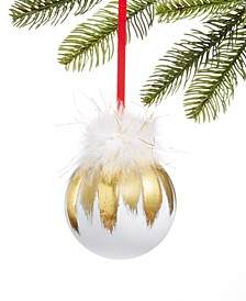Shine Bright Feather Ornament, Created for Macy's