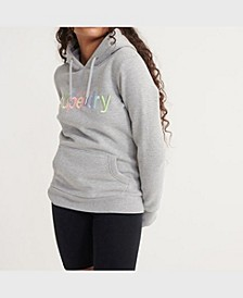 Women's Classic Rainbow Embroidered Hoodie