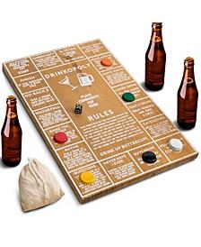 Game Wood Drinkopoly Board