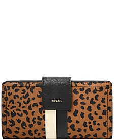Women's Logan Tab Clutch with Stripe