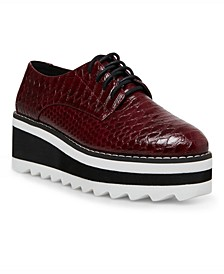 Marshall Treaded Flatform Oxfords