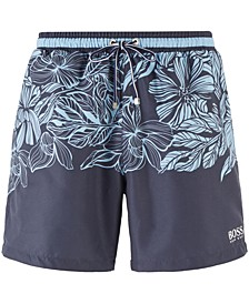 BOSS Men's Barracuda Quick-Dry Swim Shorts