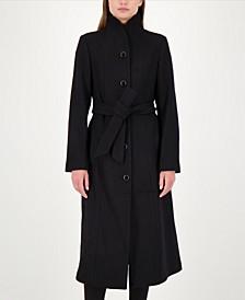 Maxi Stand-Collar Coat