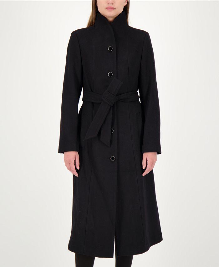 kate spade new york - Maxi Stand-Collar Coat