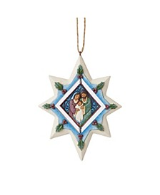 Holy Family Rotating Star Ornament