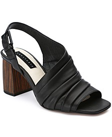 Rev Up Ruched Sandals