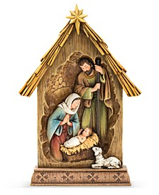 Nativity with  Star and Lamb